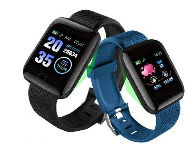 Promoção Dia Dos Pais Lindos Relógios Digitais Smartwatch Vários Modelos - Foto 4