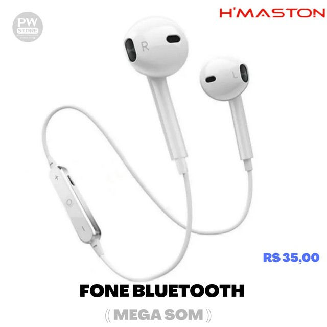Fone Bluetooth Extra bass - Loja PW STORE