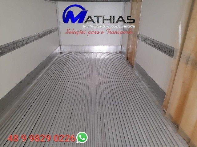 carroceria frigorificada 6.20m ano 2015 3/4 Mathias implementos  - Foto 3