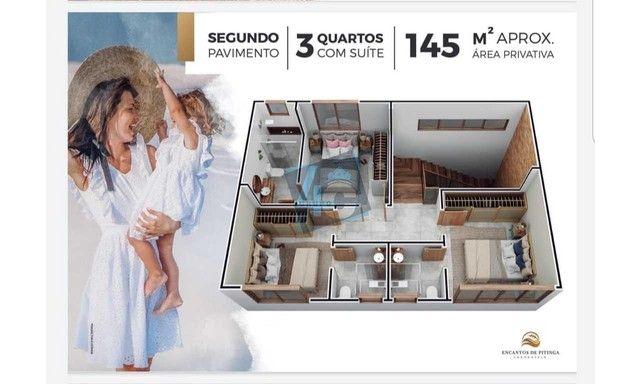Casa Duplex com 3 dormitórios à venda, 145 m² por R$ 900.000 - Praia de Pitinga - Porto Se - Foto 13