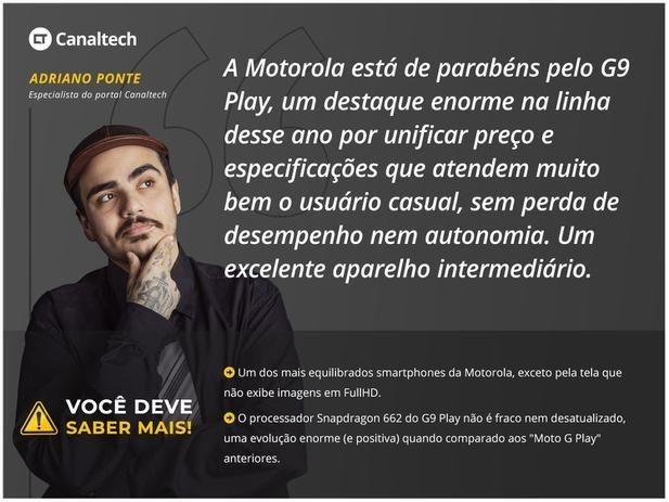 Smartphone Motorola Moto G9 Play 64GB Verde  - Foto 6