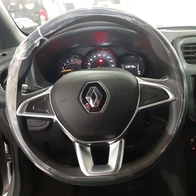 Renault Logan Life 1.0 2020 Flex - Foto 4