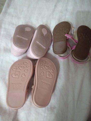 Sapato de bebê em ótimo estado  - Foto 2
