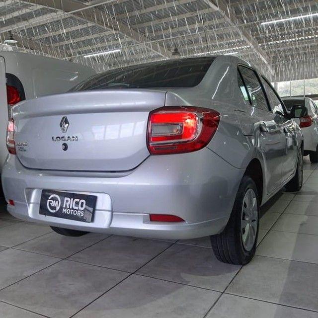 Renault Logan Life 1.0 2020 Flex - Foto 8