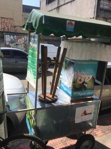 Carrinho água de coco (seminovo)  - Foto 3