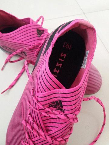 Chuteira Adidas Nemezis Profissional 19.1 Nova Sem Uso - Foto 2
