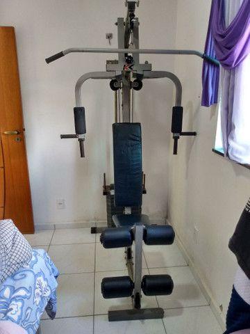 Estação para musculação