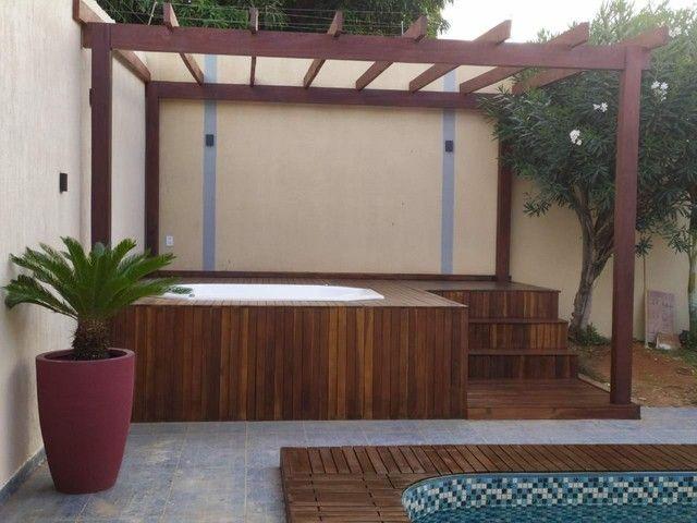 Deck e PERGOLADOS em madeiras/Fazemos obras e reformas