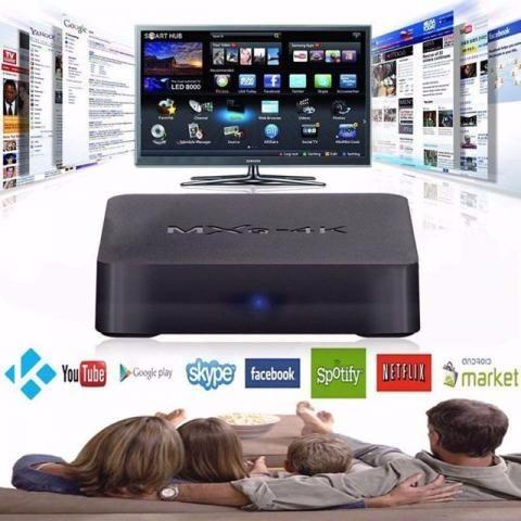 Mxq Tv Box 4k Sua tv Smart