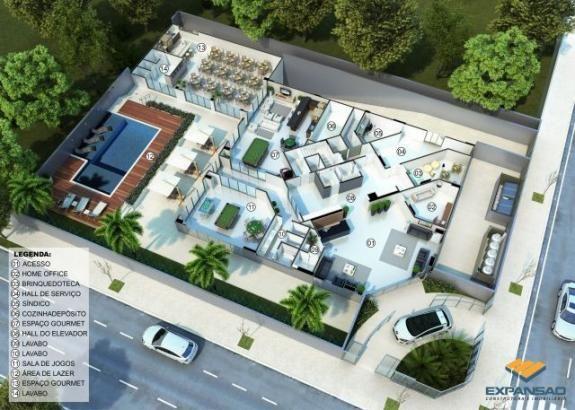 Apartamento à venda com 4 dormitórios em Zona 03, Maringá cod:1110006397 - Foto 3