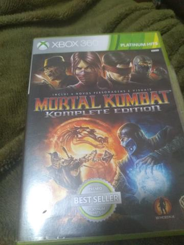 Jogo mortal kombat Xbox360