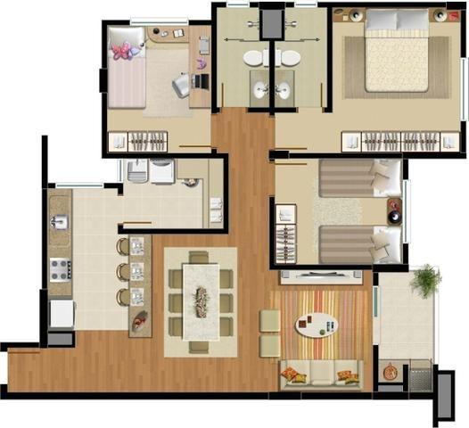 Apartamento no bairro Anita Garibaldi - Foto 13