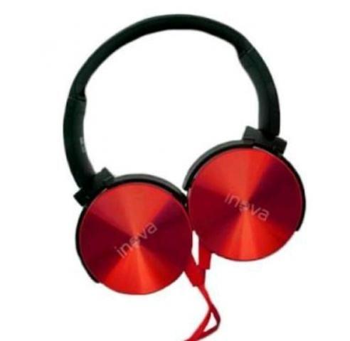 Fones de ouvido Inova N828. *NOVO