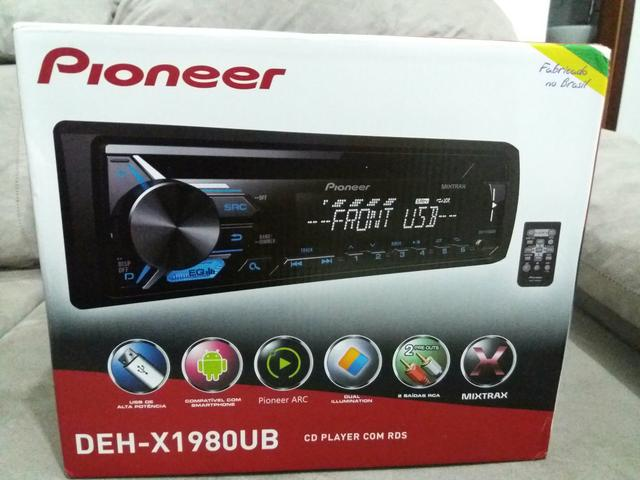 Pioneer cd e usb display 2 cores zero