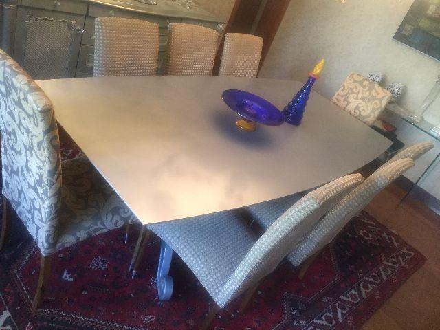 Mesa jantar com 8 cadeiras Sierra Móveis