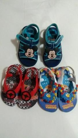Combo sandálias menino