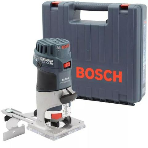 Tupia Laminadora Profissional Bosch Gkf 600 220v em 10X S/Juros