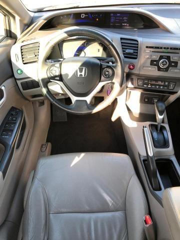 HONDA CIVIC 2012/2012 1.8 LXL 16V FLEX 4P AUTOMÁTICO - Foto 12