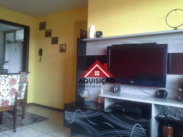 Apartamento com 3 dormitórios à venda, 54 m² por r$ 210.000,00 - capão raso - curitiba/pr - Foto 3