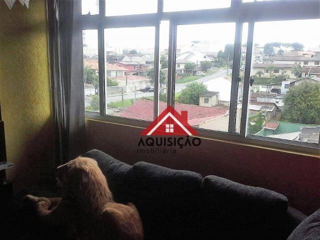 Apartamento com 3 dormitórios à venda, 54 m² por r$ 210.000,00 - capão raso - curitiba/pr - Foto 10
