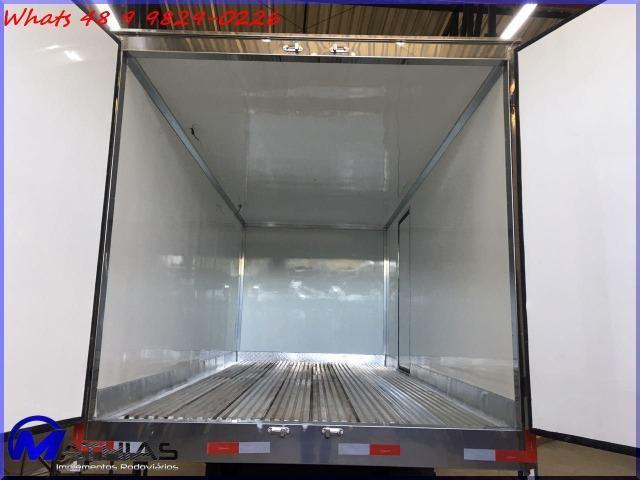 Carroceria furgão refrigerada Mathias Implementos baús para caminhões - Foto 2