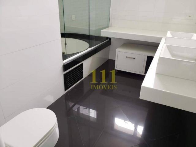 Cobertura com 5 dormitórios à venda, 628 m² por r$ 1.800.000 - vila ema - são josé dos cam - Foto 15