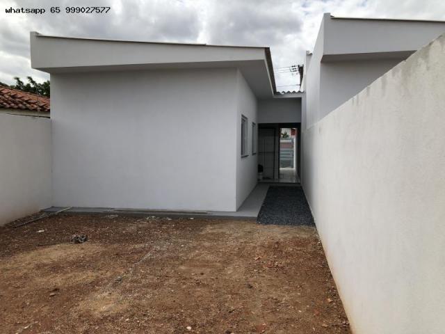 Casa para Venda em Várzea Grande, MANGA, 2 dormitórios, 1 suíte, 2 banheiros, 2 vagas - Foto 7