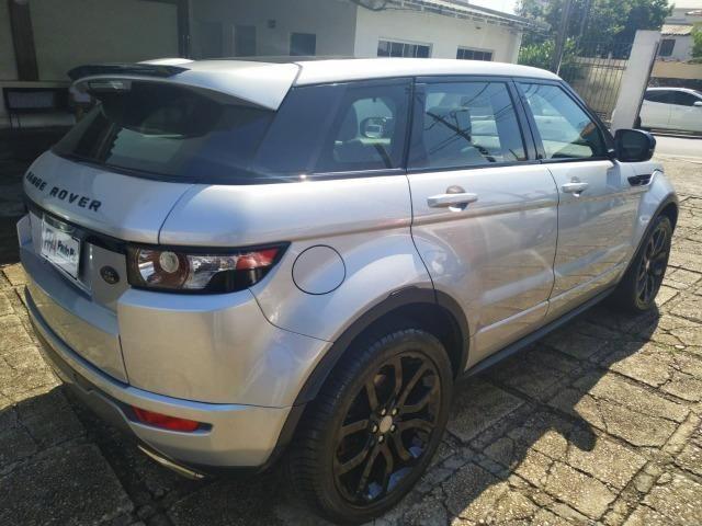 Range Rover EVOQUE DYNAMIC Black 2013 Top de linha com Teto Panorâmico - Foto 3