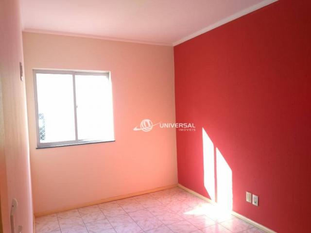 Apartamento com 2 dormitórios para alugar, 55 m² por r$ 700/mês - bandeirantes - juiz de f - Foto 7
