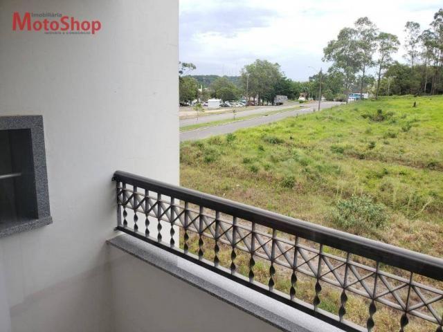 Apartamento com 2 dormitórios para alugar, 52 m² por R$ 900/mês - Coloninha - Araranguá/SC - Foto 4