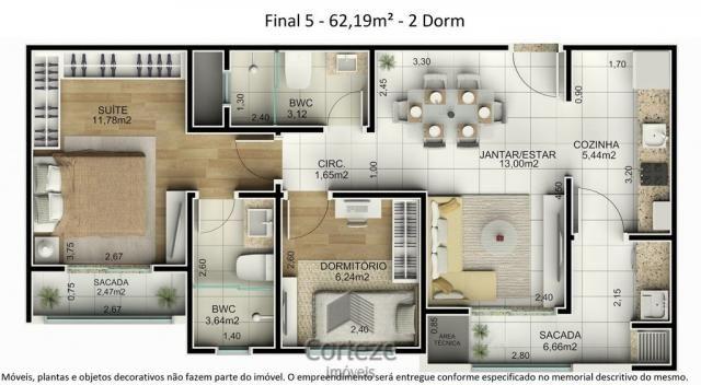 Cobertura duplex 3 quartos no Água Verde - Foto 11