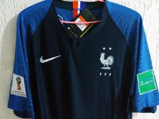Camisa França Modelo Jogador Nike Vapor d653861e90ada