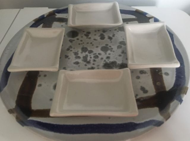 Prato Cerâmica Japonesa