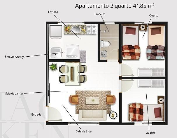 Apartamento novo de 1 ou 2 quartos ideal para estudantes da Uninovafapi - Foto 4