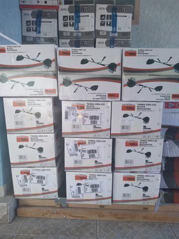 Roçadeira à gasolina 43 cilindradas, muito potente, NV C/ GARANTIA - Foto 2