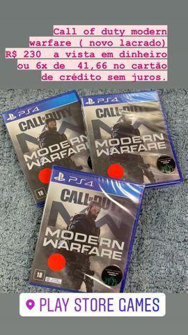 Jogos Originais para Playstation 4 (Novos e Seminovos) com garantia - Foto 3