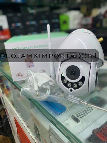 Câmera de segurança interna e externa speed dome 360 graus