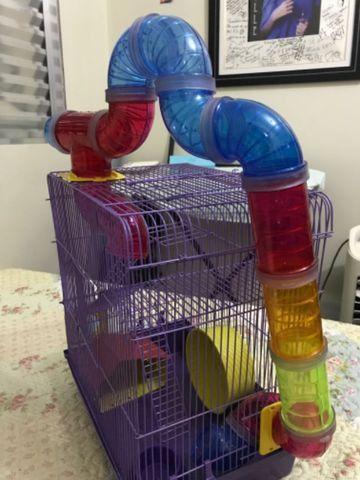 Gaiola para Hamster com labirinto - Foto 2