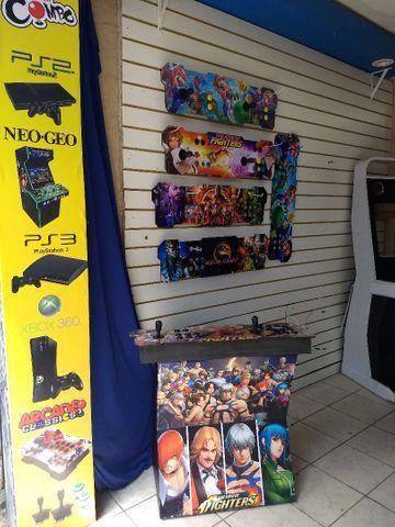 Fliperama arcade portátil c/ 14 mil jogos{{loja física a mais de 15 anos}} - Foto 3