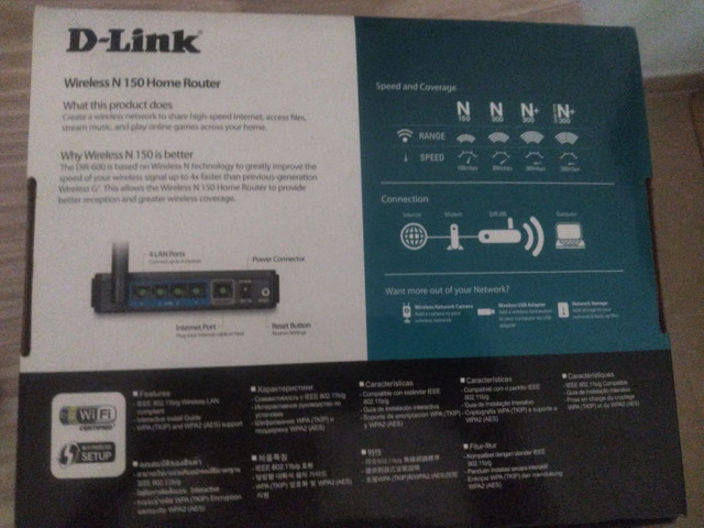 Wireless N 150 Router