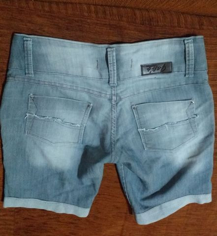 Short jeans Tam 42 - Foto 2
