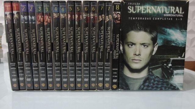 Box DVDs Supernatural Temporadas 1-8 Completas - Foto 2