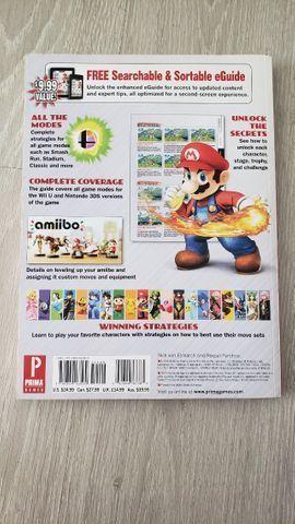 Official Game Guide Super Smash Bros 3ds E Wiiu. Inglês - Foto 3