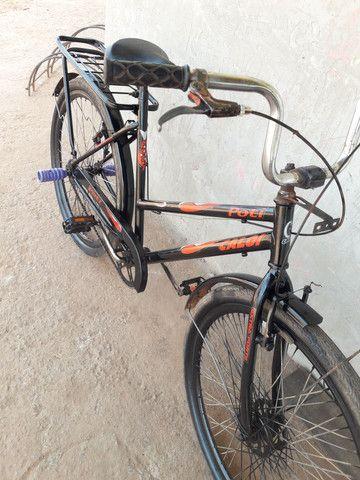 Vendo essa linda bicicleta poti caloi boa só pegar e andar, valor mínimo 250 entrego.  - Foto 4