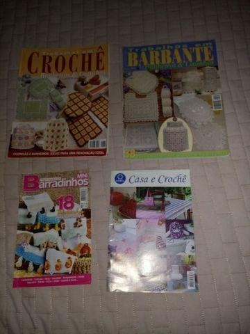 Revistas de crochê variadas - Foto 6