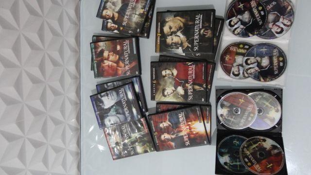 Box DVDs Supernatural Temporadas 1-8 Completas - Foto 3