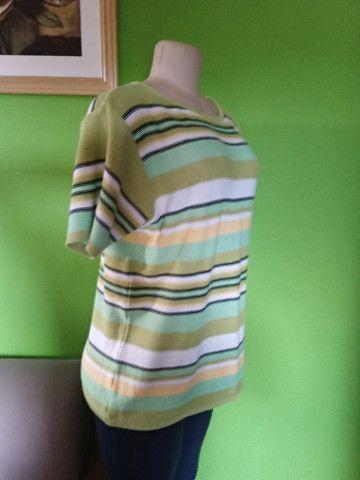 Blusa/Camisa Linha & Cores - G - Foto 4
