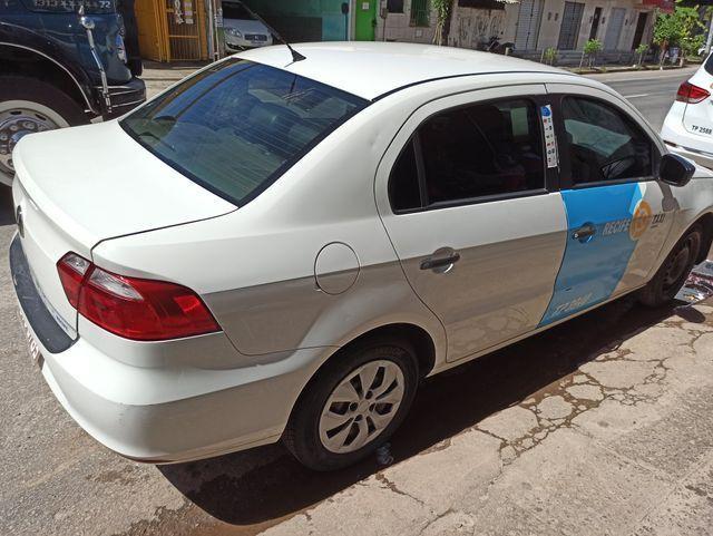 TAXI RECIFE VOYAGE 2014 1.6 COM GAS (carro e praça transferivel) - Foto 6