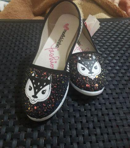 Kit sapatos infantil novo 60$os 2pares!!