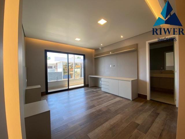 Luxo! Casa perfeita e mobiliada em Vicente Pires! 4 suites, revestimentos e materiais de p - Foto 9